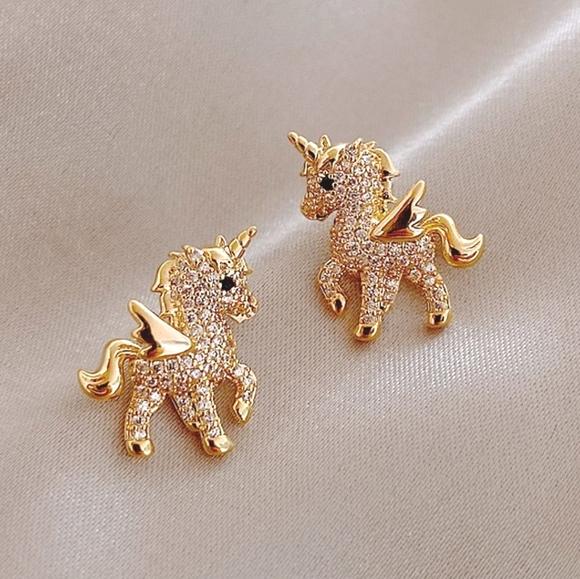 Unicorn Sparkle Earrings